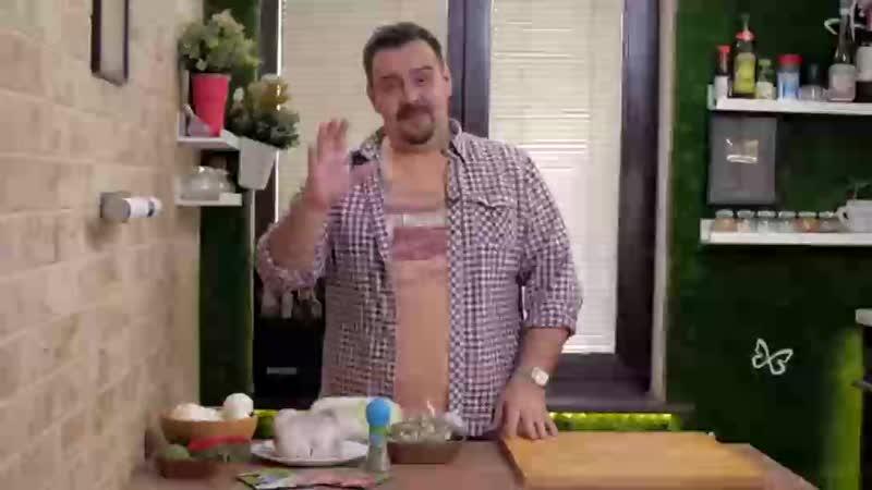 Целая курятина с грибами в одном противне | Не надо пачкать посуду!