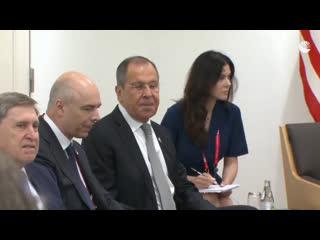 Встреча Путина и Трампа на саммите G20