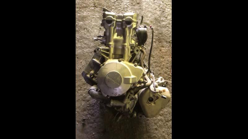 Проверка контрактного двигателя Honda CB600 Hornet (PC25E) перед отправкой клиенту | motod.ru