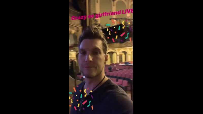 Crazy ex girlfriend concert (Scott's instagram)