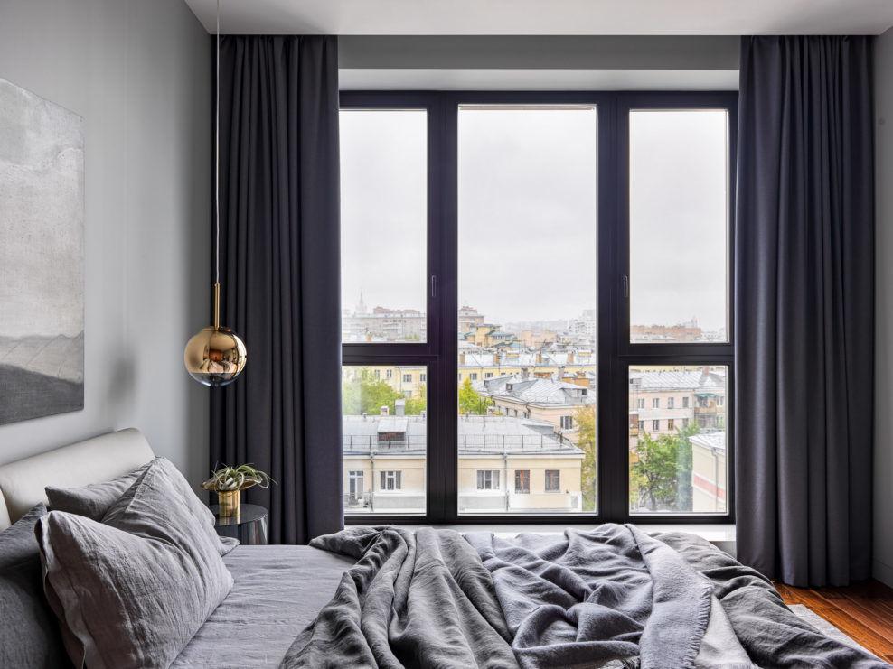 Квартира в серых тонах, 100 м² от бюро Ab-architects || 02