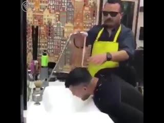 Когда парикмахер, отец твоей подруги