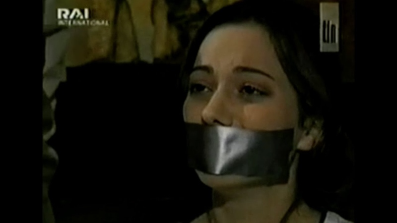 Latin Actress Tape Gagged
