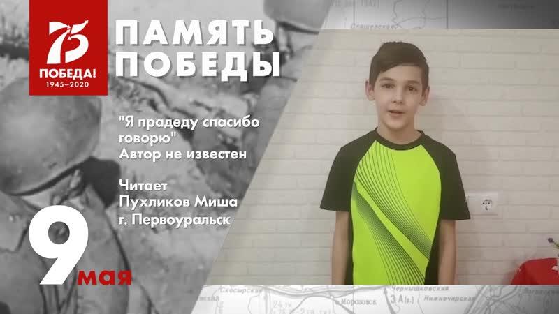 Миша Пухликов