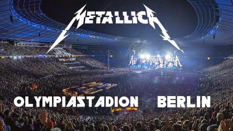 Metallica - Live in Berlin, Germany (2019) [Full Webcast] [AUDIO UPGRADE]