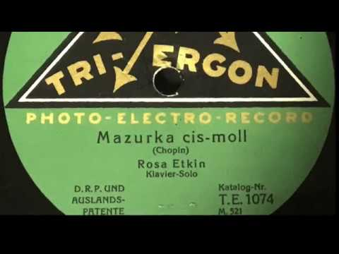 Róża Etkin two Tri Ergon label recordings