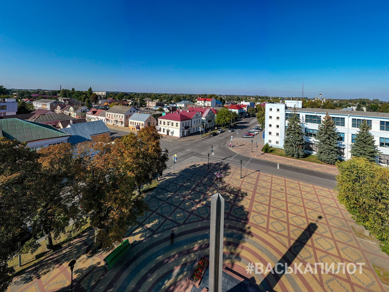 Посмотрите на Кобрин с высоты (фото с квадрокоптера)