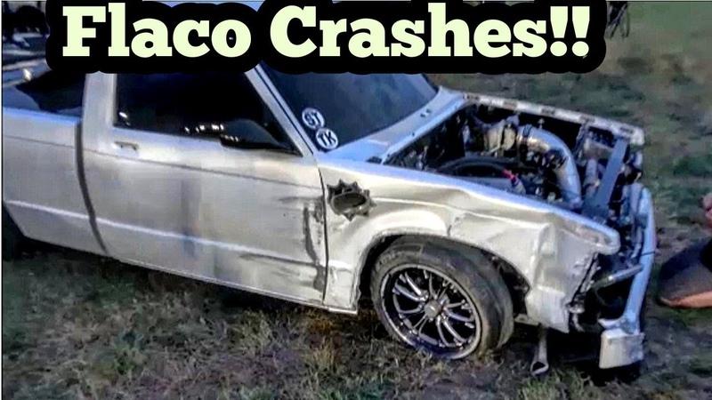 Flaco Turbo S10 Crashes at Armageddon 5 No Prep