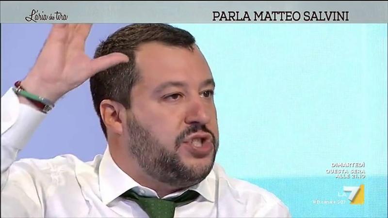 Salvini 'C'è puzza di guerra Italia esca dalla NATO'