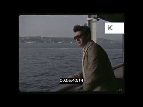1960s 1970s Istanbul Docks HD from 35mm