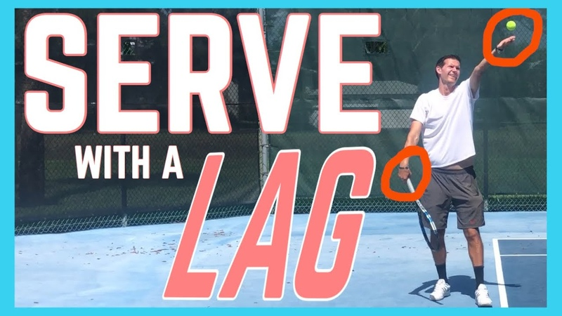 How to Serve With a Racquet Lag | Tennis Serve Lesson