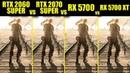RTX 2060 Super vs RTX 2070 Super vs RX 5700 vs RX 5700 XT in 9 Games FRAME RATE TEST COMPARISON