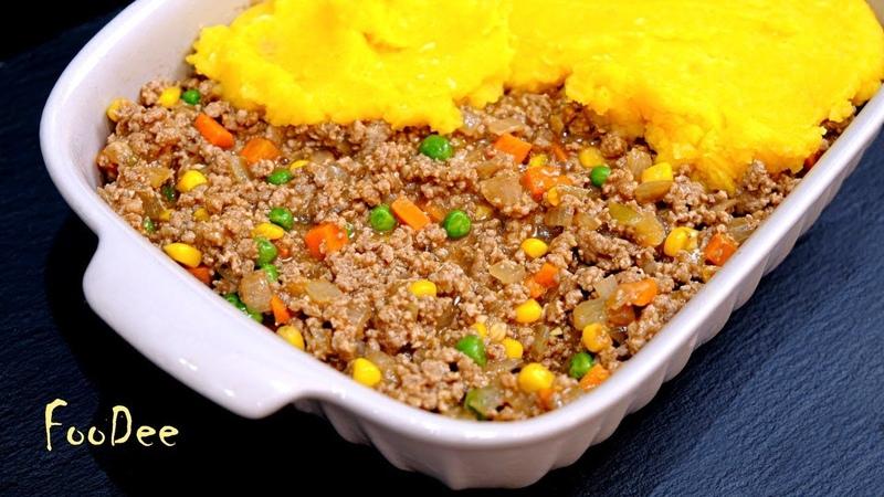Все еще не любите тыкву Вы просто не так ее готовите Pumpkin shepherd's pie