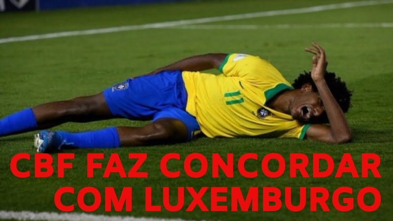 Talles Magno só em 2020 CBF e prisão de Lula enfim solto conseguem me fazer concordar com Luxa