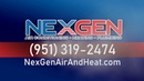 Best new air conditioning unit in Inland Empire | NexGen | (951) 319-2474