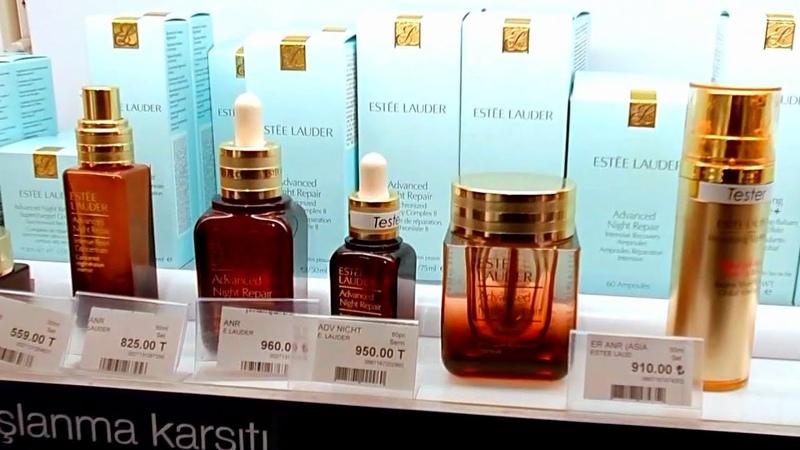 Цены в Сефора Уходовая и декоративная косметика в Мармара Форум в Стамбуле Цены в Турции