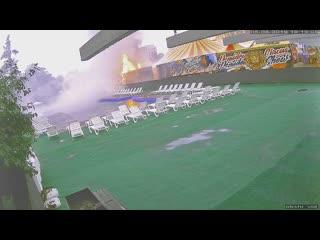 Полное видео с пожаром у цирка в Одинцово (5 августа 2019)
