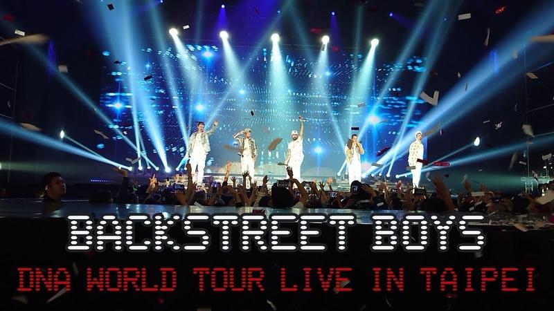 2019 10 22 BACKSTREET BOYS DNA WORLD TOUR LIVE IN TAIPEI