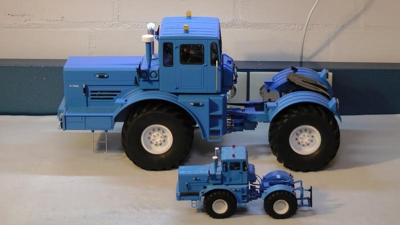 Kirovets K 700A 4x4 Кировец K700A unboxing and assembly Trecker Schlepper Traktor