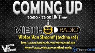 DJ SMURF/VIKTOR VAN STROOMF - Method Radio (Hard techno)
