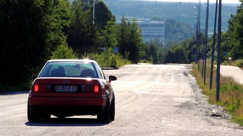 Audi S2 Saloon tuned 1000BHP GREAT ACCELERATION SOUND TURBO 1080p Full HD
