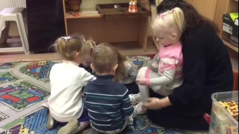 Занятия с малышами БУКВАРИКИ