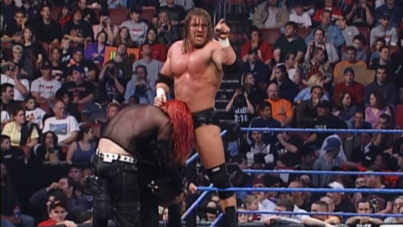 Jeff Hardy vs. Triple H Intercontinental Championship Match - SmackDown, April 12, 2001