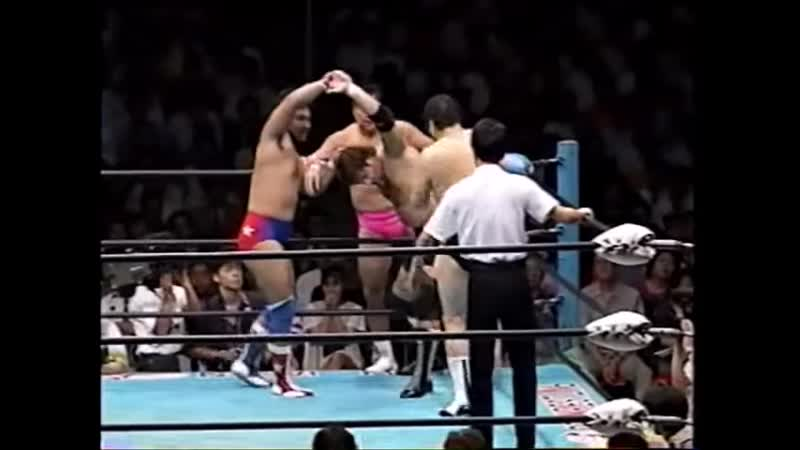1993 07 29 The Destroyer's Full Unaired Retirement Match Ceremony Destroyer Beyer Baba vs Fuchi Eigen Inoue