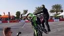Motorbike wheelie competition
