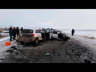 Авария в Башкирии 13 января 2020
