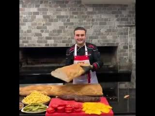 Когда делаешь себе сэндвич