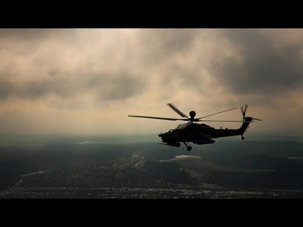 Крадущийся Ночной охотник основной ударный вертолет ВКС РФ Ми 28Н за 90 секунд