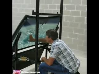 Эффективность пуленепробиваемого стекла