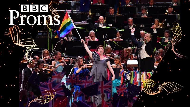 Rule, Britannia! (excerpt) with Jamie Barton and rainbow flag (BBC Proms 2019)