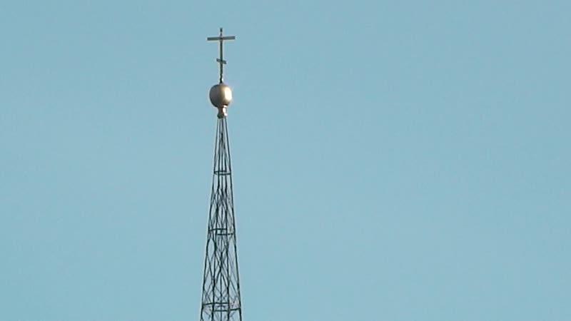 видео Церковь Венёвская Никола потихоньку восстанавливается