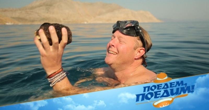 Джон Уоррен нырнет за губкой, соберет оливок и научится танцевать танец пьяного грека. «Поедем, поедим!» в Греции — в субботу