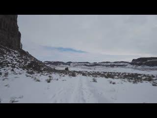 Winter Walk 4K 60fps - Mesmerizing Winter Scenery of Ancient Lakes Trail, WA