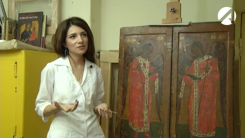 В Астрахани реставраторы обнаружили древние изображения на иконах 18-го века