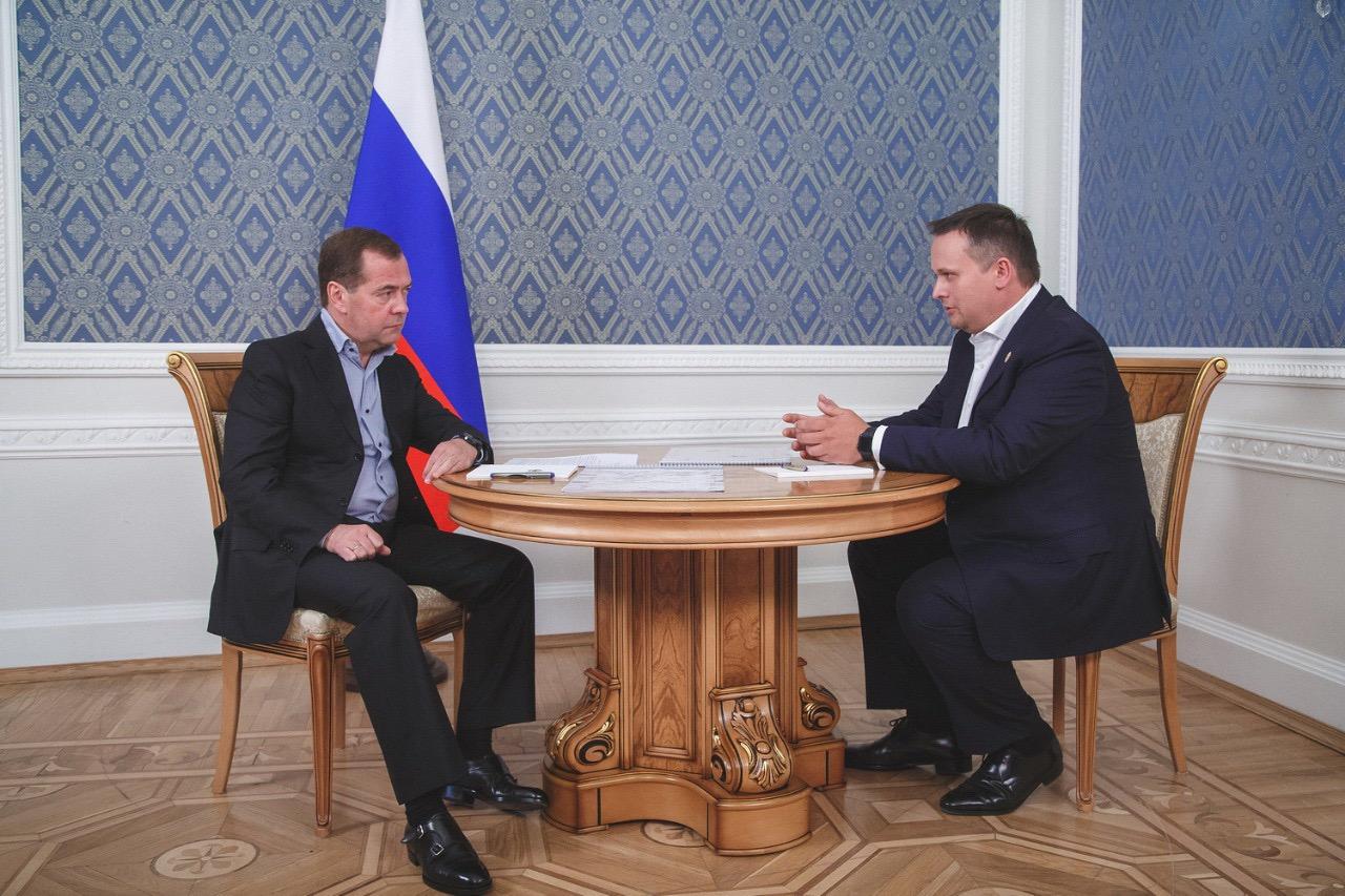 В правительстве Медведева пообещали восстановить аэропорт в Великом Новгороде