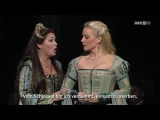 Anna Bolena  (Anna Netrebko, Elina Garanca) HD - Wiener Staatsoper 17. April 2011