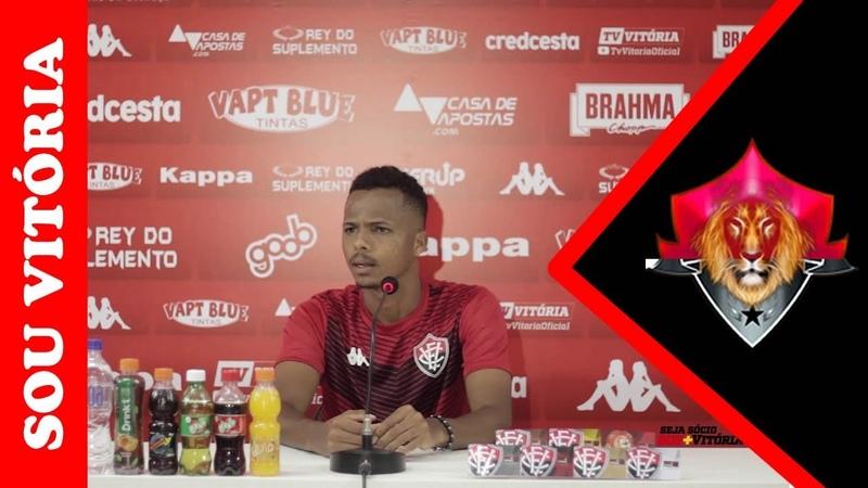 Notícias do Vitória Coletiva de Romisson O volante espera 'jogo duro' contra o Cuiabá