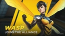 Marvel Ultimate Alliance 3: The Black Order - Wasp Gameplay (Nintendo Switch HD) [1080p60FPS]
