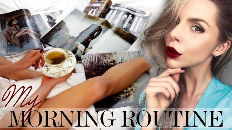MORNING ROUTINE GRWM AUTUMN WINTER Laura Blair AD