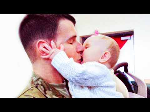 Excited Babies Reactions When Daddy Comes Home Funny Baby And Daddy