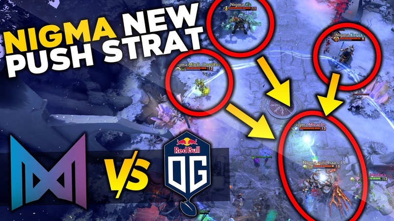 NIGMA vs 20 min MEGACREEPS New Push Strat with Miracle IO Wisp LA Major Qualifier