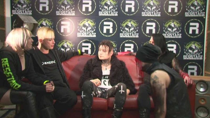 Alien Vampires Resistanz Interview