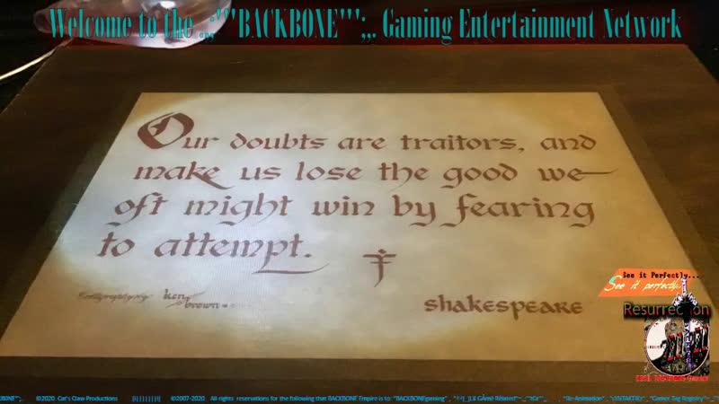 .,BACKBO,. Gaming entertainment Network
