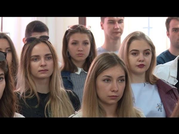 Info - Studenti iz Rusije na razmeni u Nišu - (TV KCN 10.04.2019)