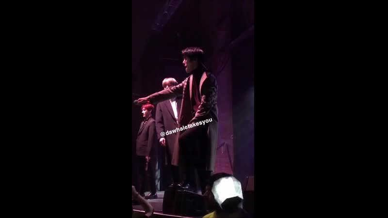 VK 200219 MONSTA X fancam You Can't Hold My Heart @ Album Release Party in New York
