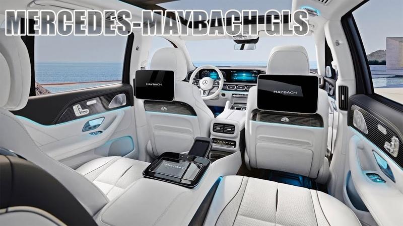 2021 Mercedes Maybach GLS Interior Design Ultra Luxury SUV